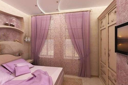 Как обустроить маленькую спальню в «хрущевке». Видео