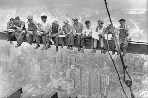 Как строят небоскребы. Видео