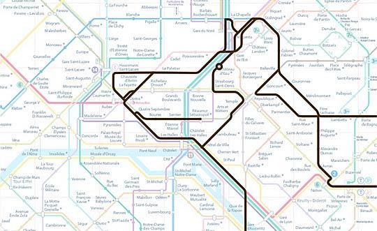 Курьезы: животные, которые «живут» на схеме Парижского метро. Фото