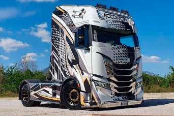 На европейский рынок вышел грузовик IVECO с уникальным тюнингом