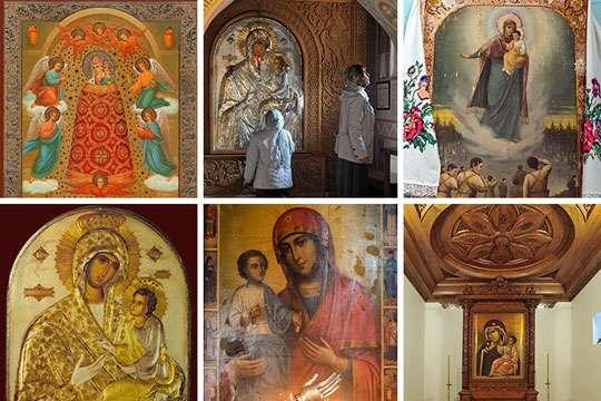 Лики Богородицы: редкие украинские иконы. Фото