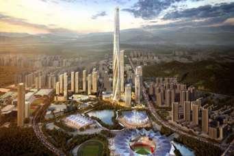 Началось строительство второго по высоте небоскреба в мире