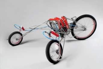 Курьезы: как из двух шуруповертов сделать электромотоцикл. Фото