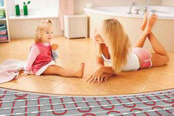Как избежать потерь тепла при монтаже «теплого пола»