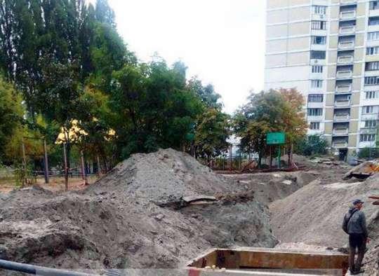 В Дарницком районе готовятся к уничтожению скверов