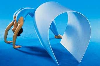 На рынке появился новый вид гипсокартона: эластичный гипсокартон