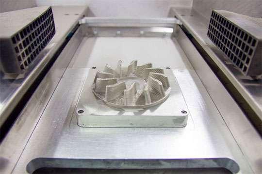 В Украине создан лучший в мире 3D-принтер, который печатает из любых металлов