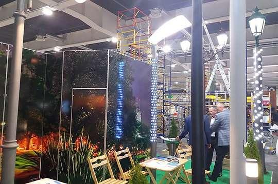 На выставке «KyivBuild-2019» представили новые лакокрасочные материалы