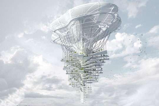 Курьезы: на 2050 год запланировано строительство «живого» небоскреба