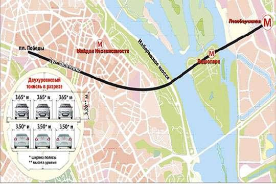 Курьезы: как киевские власти пытались построить автобан под Днепром