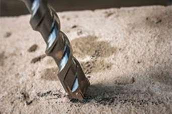 Как просверлить арматуру в бетоне