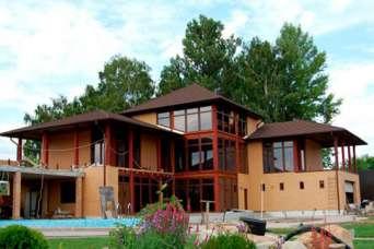 Из каких элементов строят теплые и недорогие дома