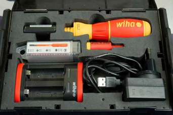 Wiha представила профессиональную аккумуляторную отвертку для электриков