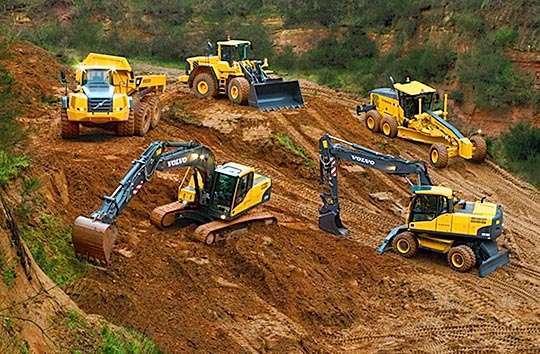 Рынок строительной техники Украины вышел на довоенный уровень