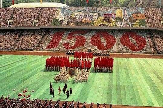Киеву исполнилось 1538 лет. А как праздновали 1500-летие? Видео