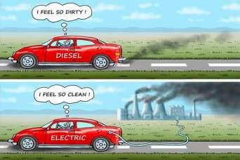 Электромобили приближают глобальную экологическую катастрофу