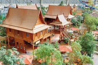 В центре Европы построили парк развлечений «Тропический рай». Фото
