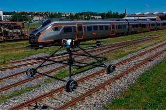 Создан дрон для проверки железнодорожных путей