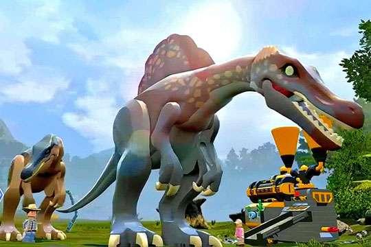 Но все иначе обстоит в игре лего: поиск динозавров!