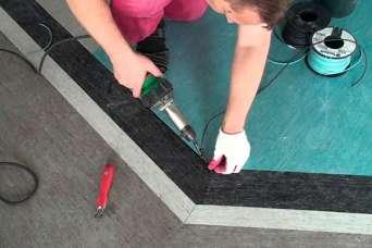 Что такое аппарат для сварки линолеума и как с ним работать