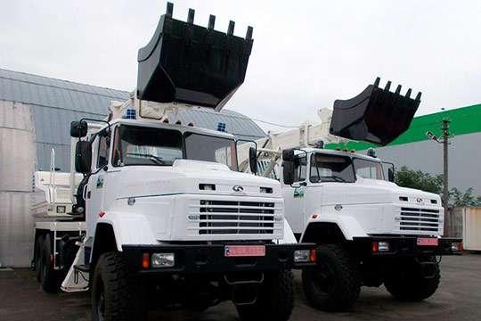 Чем отличаются словацкие экскаваторы, работающие на стройках Украины