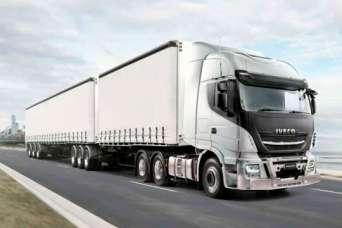 IVECO представила новый тягач под 70-тонный автопоезд