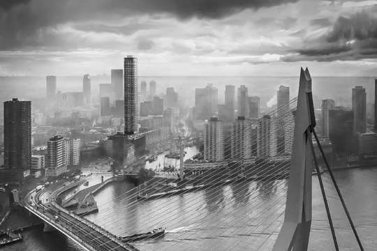 Самый стройный жилой небоскреб Европы построят в Роттердаме
