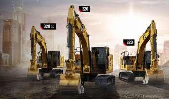 На рынок выходят экскаваторы Caterpillar нового поколения