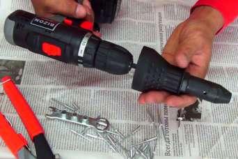 Что такое насадка-заклёпочник на шуруповёрт