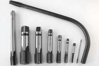 Какие бывают метчики для нарезания резьбы