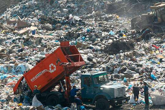 Окрестностям Киева грозит экологическая катастрофа