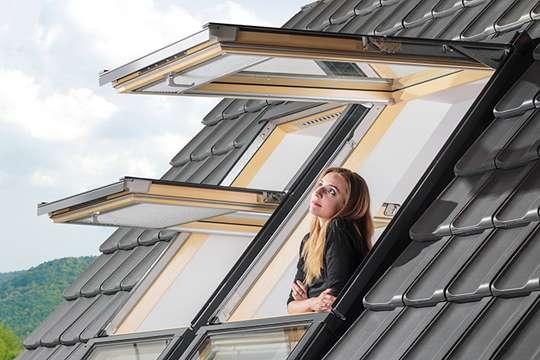 Мансардные окна класса LUX - премиум-уровень в своем сегменте