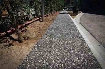 Как сделать садовую дорожку из дренажного бетона. Фото и видео
