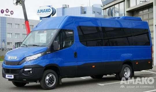 В Украине появился новый 19-местный автобус IVECO. Фото