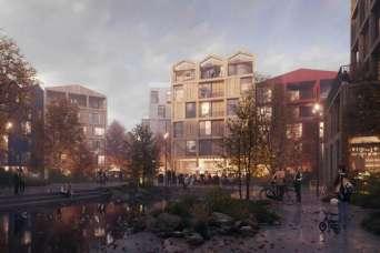 Архитекторы предложили построить полностью деревянный район