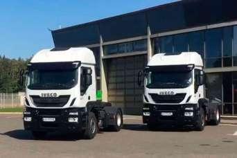 Украинские аграрии получили новые специализированные грузовики