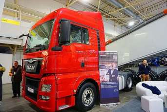 В Киеве представили грузовики MAN