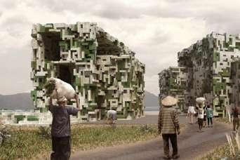 Студенты хотят построить деревню из водорослей