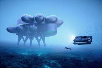 Внук знаменитого Кусто поможет создать футуристическую подводную станцию