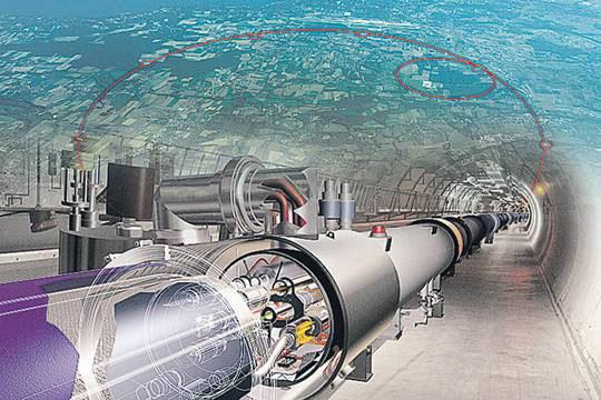Началось строительство супер-коллайдера