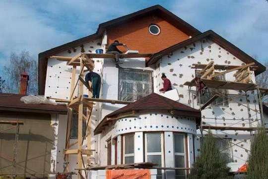 Камень для отделки фасада частного дома