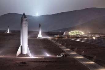 Для строительства базы на Марсе нужно 20 лет и 1 тыс. запусков ракет