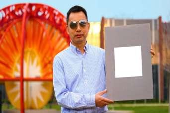Самая белая краска в мире отражает 98% света