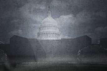 После штурма Капитолий превратили в крепость-оплот демократии