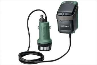 Bosch вывела на рынок новый аккумуляторный насос
