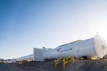 Первую линию Hyperloop могут построить в Индии