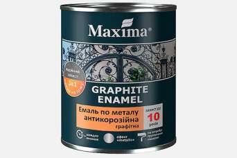 Появилась новинка: антикоррозионная графитовая эмаль по металлу «3 в 1»