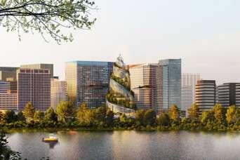 Новую штаб-квартиру Amazon сравнили с фекалиями