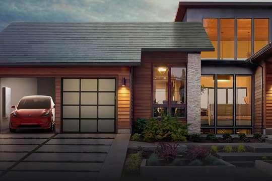 Tesla готова продавать «солнечную крышу»
