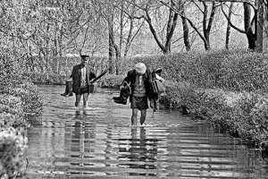 История киевских наводнений: как затопило Русановку. Фото